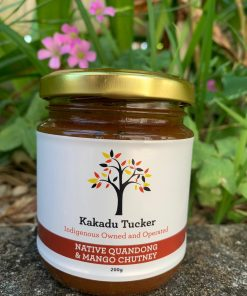 Native Quandong and Mango Chutney