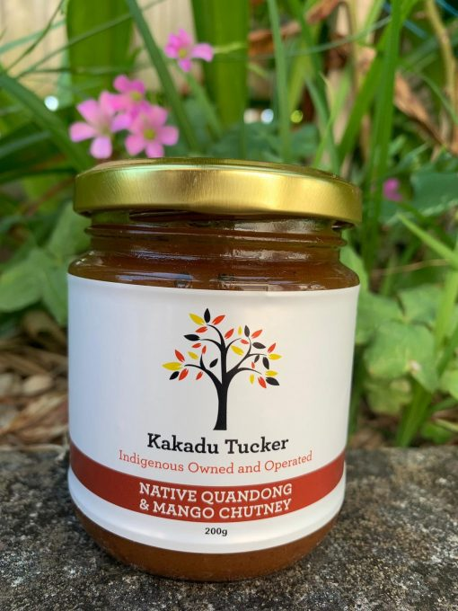 Native Quandong and Mango Chutney